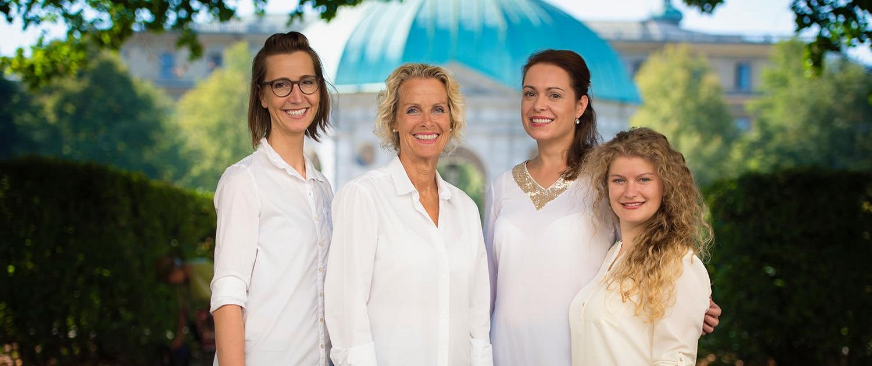 Logopädie-Oase-Team im Hofgarten