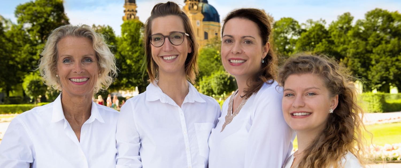 Das Team der Logopädie Oase Odeonsplatz im Hofgarten